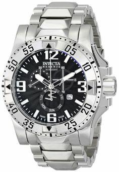 Invicta Men's 15294 Excursion Analog Display Swiss Quartz Silver Watch
