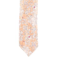 Pre-owned Brioni Silk Jacquard Tie ($50) ❤ liked on Polyvore featuring men's fashion, men's accessories, men's neckwear, ties, white, mens ties, mens white tie, mens patterned ties, mens silk ties and mens leopard print tie