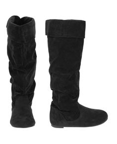 Tall, black, and slouchy.  $19.50