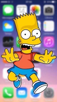 Simpson Wallpaper Iphone, Cartoon Wallpaper Iphone, Apple Wallpaper, Cute Wallpaper Backgrounds, Funny Wallpapers, Aesthetic Iphone Wallpaper, Disney Wallpaper, Iphone Wallpapers, Desktop Backgrounds