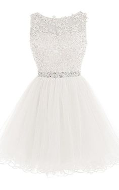 Short Homecoming Dresses Lace Open Back Cocktail Party Dress Tulle Prom Dress Appliques Cute Prom Dresses, Prom Dresses 2016, Grad Dresses, Pretty Dresses, Sexy Dresses, Beautiful Dresses, Evening Dresses, Formal Dresses, Prom Gowns