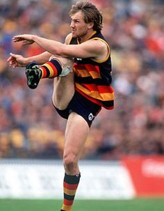 My first Pin - T. Click the pic to see highlights from the great man. Australian Football League, Crows, Football Team, Rugby, Running, Orlando, Sports, Highlights, Pride