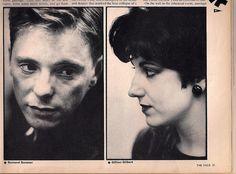 "johnbrissenden: ""Bernard Sumner & Gillian Gilbert (via jhnbrssndn)� Alternative Artists, Alternative Music, Gillian Gilbert, Ian Curtis, 80s Pop, Joy Division, Post Punk, Source Of Inspiration, Pop Rocks"