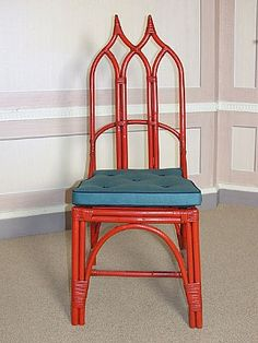 Sibyl Colefax & John Fowler Antiques: Gothic bamboo chair