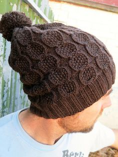 Ravelry: Pineapple Stacks Hat pattern by Rebecca Marsh