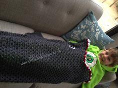 Shark Crochet Blanket Free Pattern