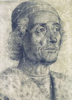 Andrea Mantegna, Portrait of a man, 1470-75 https://www.artexperiencenyc.com/social_login/?utm_source=pinterest_medium=pins_content=pinterest_pins_campaign=pinterest_initial