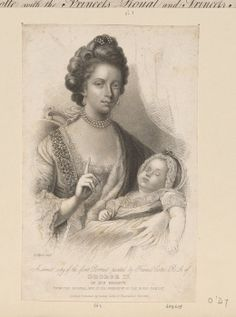 GEORGE IV IN HIS INFANCY.