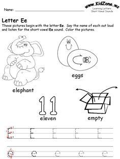 Kindergarten alphabet worksheets | Alphabet worksheets, Worksheets ...