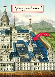 Cartolina - Cartolina card - Your new home! CC267