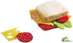 La hora de merendar, ¿de que quereis el sandwich?