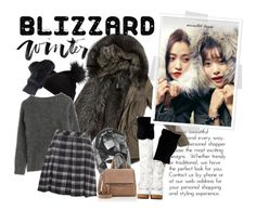 """""""Winter Blizzard"""" by junglover ❤ liked on Polyvore featuring Hotping, San Diego Hat Co., Givenchy, Marni, Halogen, Burberry and Proenza Schouler"""