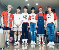 ASTRO|| Left to Right: JinJin, MJ, Moonbin, Eunwoo, Sanha, Rocky