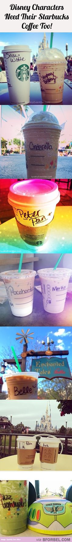 10 Disney Characters Who Need Their Starbucks…