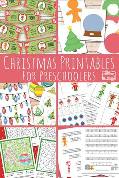 Christmas Printables for Preschool