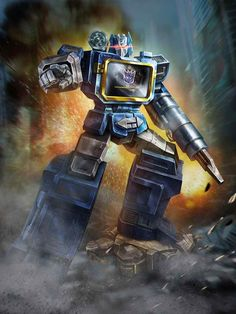 Decepticon Soundwave Artwork From Transformers Legends Game