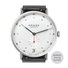Metro 38 Datum Saphirglasboden | Schöne Uhren online kaufen. Direkt bei NOMOS Glashütte.
