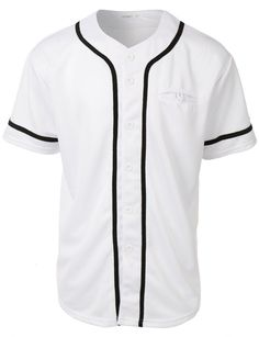 61dfa613b LE3NO Mens Active Varsity Short Sleeve Button Down Baseball Jersey with  Patch Buy Basketball, Basketball