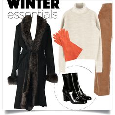 A fashion look from November 2015 by la-minimaliste featuring Rosetta Getty, Gucci, Chanel, winteressentials and laminimalisteny