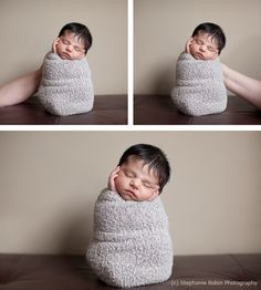 How-to newborn photography pose
