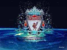 The Liverpool FC crest on red water by Mostar lfc-fan-art Liverpool Badge, Liverpool Fc Managers, Liverpool Football Club, Liverpool Fc Wallpaper, Liverpool Wallpapers, Champions League, Liverpool You'll Never Walk Alone, This Is Anfield, Red Day