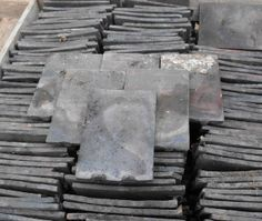 Yorkshire stone roof slates for sale on salvoweb from abacus stone stafford blue handmade roof tiles for sale on salvoweb from beeston reclamation in cheshire salvo ppazfo