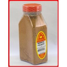 Oriental Five Spices Freshly Packed  - 10 OZ by MARSHALLS CREEK SPICES  4.0 out of 5 stars  Price:	$10.02    INGREDIENTS: GINGER, CORIANDER, CINNAMON, CUMIN, ORANGE PEEL.