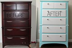 Seefluffy: Dresser Makeover DIY