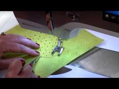 Invisible Machine Applique - YouTube