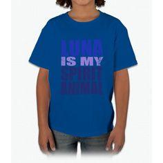 Luna Is My Spirit Animal Unicorn Young T-Shirt