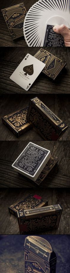 Creative and Luxurious Decks of Playing Cards - Luxury Interior Randy Cunningham, Bicycle Cards, Manado, Deck Of Cards, Tarot Cards, Game Design, The Magicians, Card Games, Design Elements