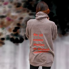 Embroidered Stories Hoodie House of Leaves Coffee by YarnPlusInk House Of Leaves, Hoodies, Sweatshirts, French Terry, Soft Fabrics, Unisex, Embroidery, Cotton, How To Make