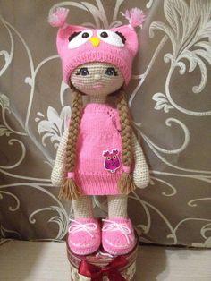 Custom Amigurumi Crochet Girl Doll in dress Baby by MollisToys – BuzzTMZ Handmade Dolls Patterns, Handmade Toys, Doll Patterns, Crochet Dragon Pattern, Crochet Doll Pattern, Crochet Patterns, Crochet Amigurumi, Amigurumi Patterns, Amigurumi Doll