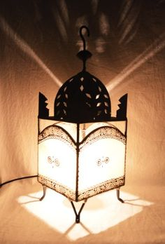 Plain Moroccan Henna Table / Floor L&- Sqaure Dome - Cream H50 D16 W16 Cm & Moroccan Table Lamp | Quirky Table Lamps | Pinterest | Free delivery azcodes.com