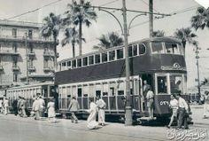 Double storey tram - Alexandria 1940's