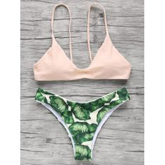 SHARE & Get it FREE   Palm Tree Spaghetti Straps BikiniFor Fashion Lovers only:80,000+ Items·FREE SHIPPING Join Dresslily: Get YOUR $50 NOW!