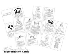 The Living Christ memorization cards, Church of Jesus Christ, LDS, Mormon Engagement Props, Calligraphy Print, Relief Society, Print And Cut, Note Cards, Jesus Christ, Hand Lettering, How To Memorize Things, Words