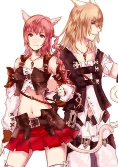 Final Fantasy XIII - Snow Villiers & Serah Farron