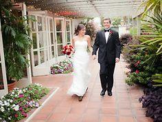 Sherman Library and Gardens Weddings Garden Wedding Receptions Orange County wedding location Corona del Mar 92625 | Here Comes The Guide