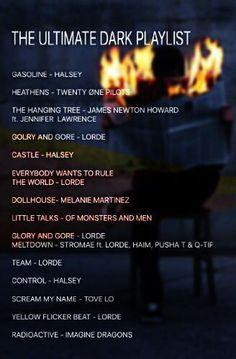 Dark playlist - # - Dark playlist - # - sayings from songs Music Lyrics, Music Quotes, Music Songs, Film Quotes, Music Mood, Mood Songs, Playlist Pop, Indie Rock Playlist, Road Trip Playlist