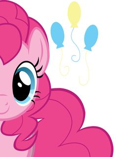 Pinkie Pie - throwing at least 5 parties a day My Little Pony Party, Cumple My Little Pony, Mlp My Little Pony, My Little Pony Friendship, Pink Pie, Arte Fashion, Imagenes My Little Pony, Little Poni, Mlp Pony