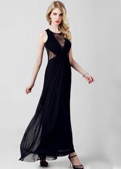 Shop Black Sleeveless Contrast Hollow Lace Maxi Dress online. Sheinside offers Black Sleeveless Contrast Hollow Lace Maxi Dress & more to fit your fashionable needs. Free Shipping Worldwide!