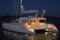 The Privilege shipyard in France has just finished its third PRIVILEGE 745 . This is the largest catamaran built by this shipyard. The arc...
