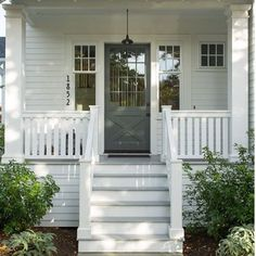 Country front porch
