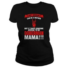 Any Woman Can Be A Mother Dalmatian Mama  Womens TShirt
