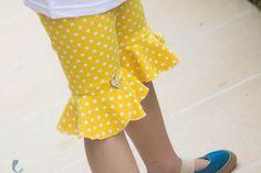 the PETUNIA PETAL Pants Legging PDF Pattern & Detailed Tutorial Girl's Sizes 2-12 by lilygiggle on Etsy https://www.etsy.com/listing/199474502/the-petunia-petal-pants-legging-pdf