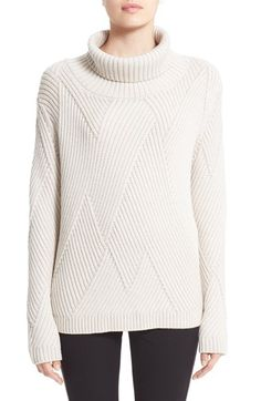 "Free shipping and returns on rag & bone 'Blithe' Merino Wool Turtleneck Sweater at Nordstrom.com. <p><b style=""COLOR:#990000"">Pre-order this style from the Pre-Spring/Resort 2016 collection! Limited quantities. Ships as soon as available. You'll be charged only when your item ships.</b></p><br>Mixed-directional ribbing lends subtle textural intrigue to an oversized turtleneck sweater spun from extra-fine merino wool."