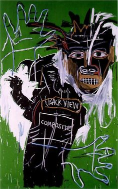 Jean-Michel Basquiat - Self-Portrait as a Heel, Part Two, 1982