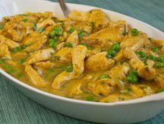 Chicken curry!