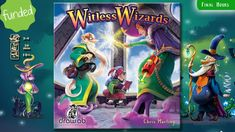 Witless Wizards is a fast and humorous card game for 2-4 players played in only 15 minutes.